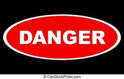 Gefährliches Logo
