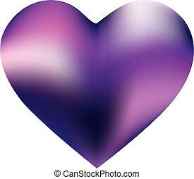 gefärbt, form, hintergrund, heart.