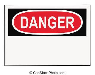 Gefahr-Warnzeichen.