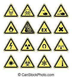 Gefahrenwarnung, Gesundheitssicherheit