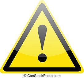 Gefahrenwarnzeichen