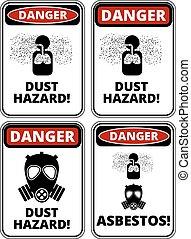 Gefahrschild.
