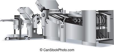 Geflochtene Maschine für Bindery