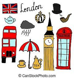 gegenstände, satz, london