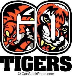 gehen, tiger