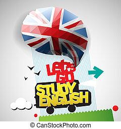 Gehen wir Englisch studieren