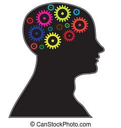 Gehirnprozessinformationen