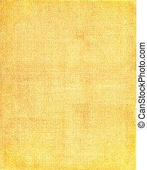 Gelber Stoff Hintergrund.