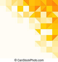 Gelbes abstraktes Muster