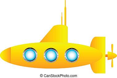 Gelbes U-Boot
