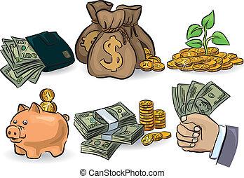 Geld bereit