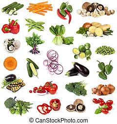 Gemüse-Collage.
