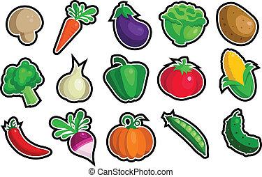 Gemüse-Ikonen