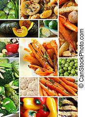Gemüse kollabiert