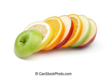 Gemischte Früchte