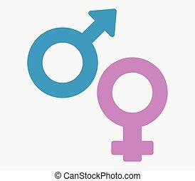Gender Ikone.