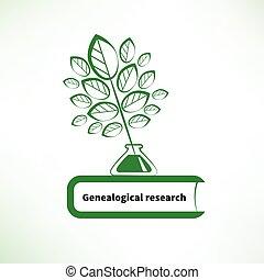 Genealogisches Forschungslogo