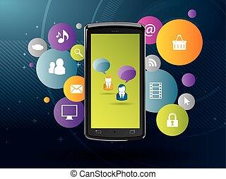 Generationengeschäfte in sozialen Medien