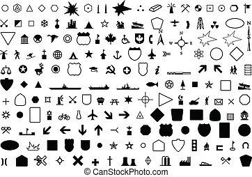 Geografisches Symbol