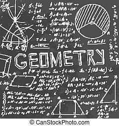 Geometrie-Blackboard