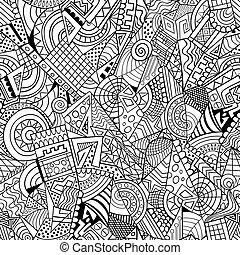 Geometrische abstrakte dekorative Muster.