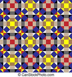Geometrische Zierde