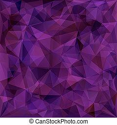 Geometrisches Muster, Dreiecke im Hintergrund