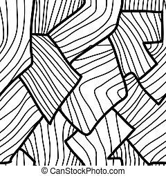 Geometrisches, nahrloses Abstraktmuster