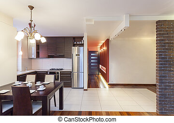 Geräumige Wohnung - Küche