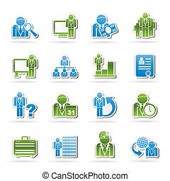 Geschäfts- und Management-Ikonen