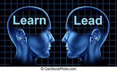 Geschäftsausbildung und Führung