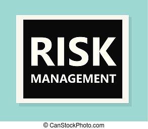 geschäftsführung, begriff, risiko