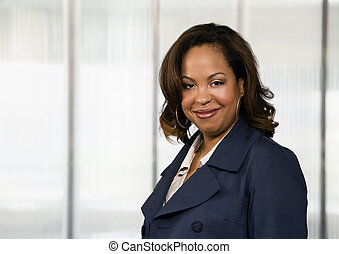 geschäftsfrau, african-american