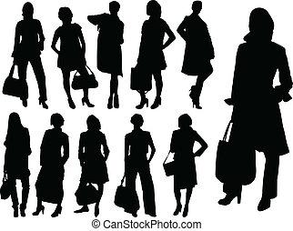 Geschäftsfrauen - Vektor
