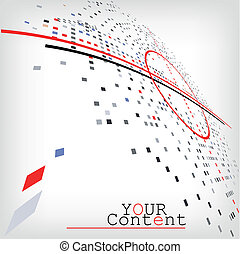 Geschäftshintergrund für Webdesign - Vektor Illustration