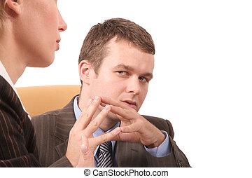 Geschäftskonversatio