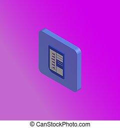 geschäftskonzept, hintergrund, tabelle, ikone