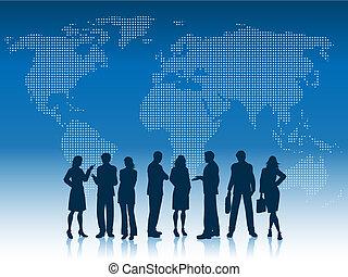 Geschäftsleute der Welt