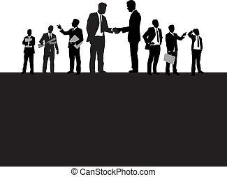 Geschäftsleute