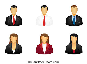 Geschäftsleute Ikonen