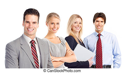 Geschäftsleute-Team