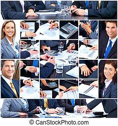 Geschäftsleute. Teamwork