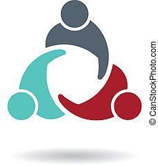 Geschäftstreffen 3 Logo
