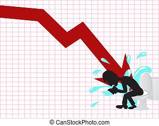 Geschäftsunfall