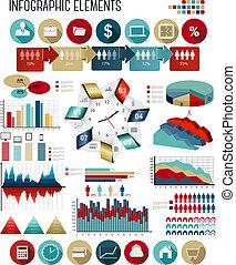 geschaeftswelt, template., vector., infographics