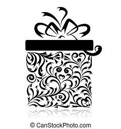 Geschenkkasten für dein Design