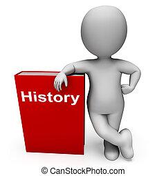 Geschichte und Charakter zeigt Bücher über die Vergangenheit.