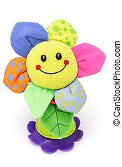 gesicht, smiley, sonnenblume, puppe