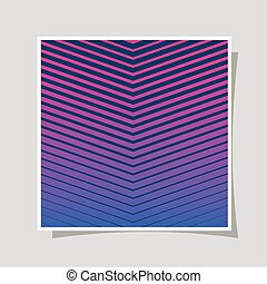 gestreift, blaues, rahmen, hintergrund, vektor, steigung, design, rosa