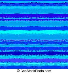 Gestreiftes Muster inspiriert von Meereswellen in Blau